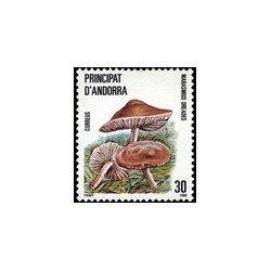 1986 Sellos Andorra Española. Naturaleza (Edif. 190)**