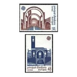 1987 Sellos Andorra Española. Europa (Edif. 196/97)**
