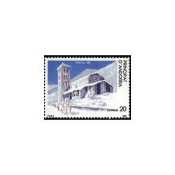 1988 Sellos Andorra Española. Navidad (Edif. 208)**