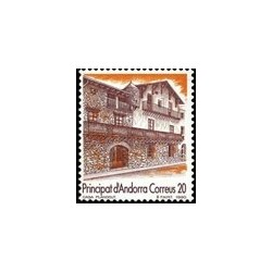1990 Sellos Andorra Española. Turismo (Edif. 221)**