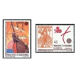 1992 Andorra Española. Europa (Edif. 230/31)**