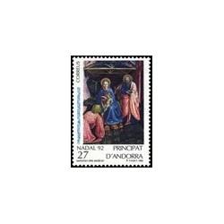 1992 Andorra Española. Navidad (Edif. 234)**