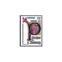 1993 Andorra Española. Navidad (Edif. 239)**