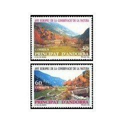 1995 Andorra Española. Año Europeo de la Conservación de la Naturaleza (Edi