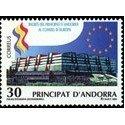 1995 Andorra Española. Ingreso en el Consejo de Europa (Edif. 250)**