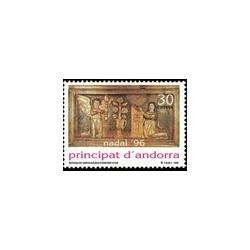1996 Andorra Española. Navidad (Edif. 255)**