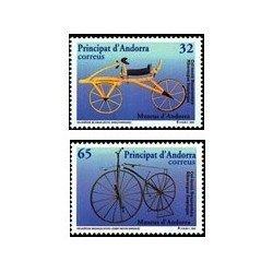 1997 Andorra Española. Museos de Andorra (Edif. 256/7)**