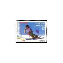1998 Andorra Española. Juegos Olímpicos de Invierno (Edif. 261)**