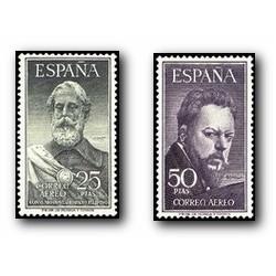 1953 España. Legazpi y Sorolla. (Edif. 1124/25)** OFERTA