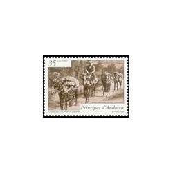 1999 Andorra Española. Historia Postal (Edif. 270)**