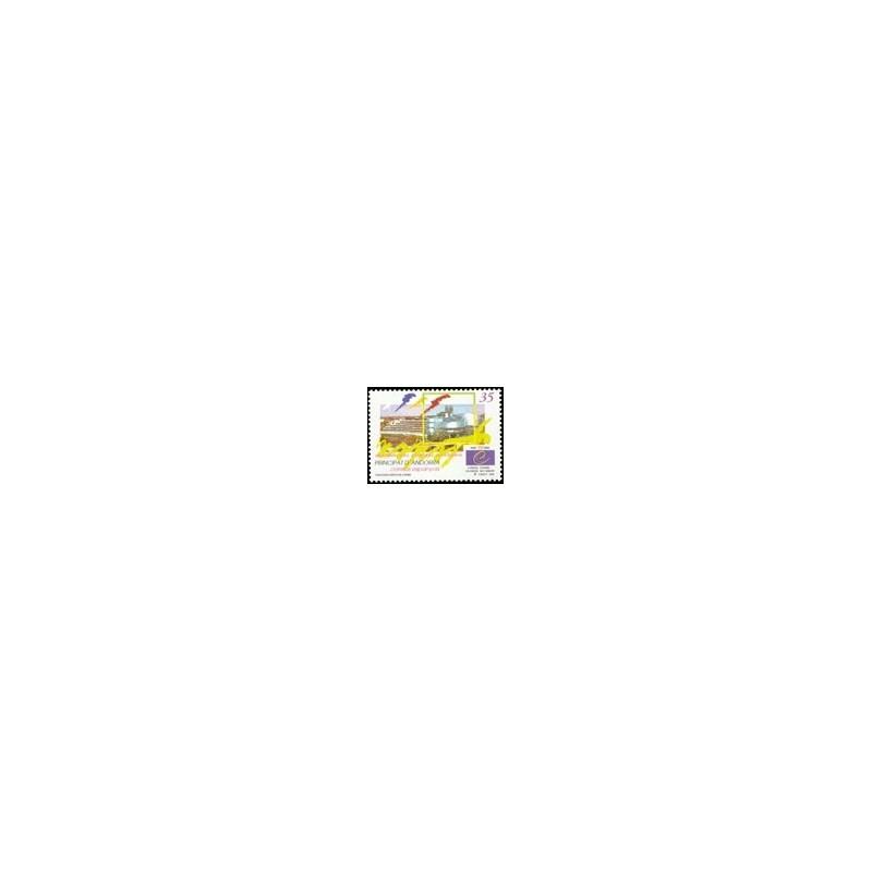 1999 Andorra Española. 50 Aniv. del Consejo de Europa (Edif. 271)**