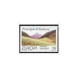1999 Andorra Española. Europa - Reservas y Parques Nacionales (Edif. 272)**
