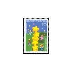 2000 Andorra Española. Europa (Edif. 276)**