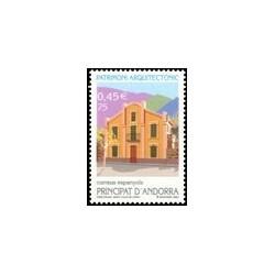2001 Andorra Española. Patrimonio Arquitectónico (Edif. 286)**