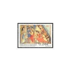 2001 Andorra Española. Navidad. (Edif. 289)**