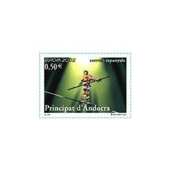 2002 Andorra Española. Europa - El Circo. (Edif. 295)**