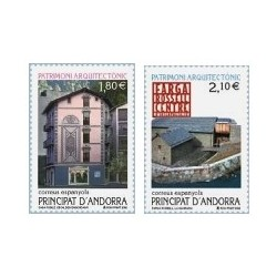 2002 Andorra Española. Patrimonio Arquitectónico. (Edif. 296/97)**