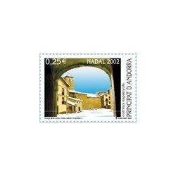 2002 Andorra Española. Navidad. (Edif. 300)**