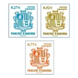 2004 Andorra Española. Escudo de Andorra. (Edif. 312/14)**