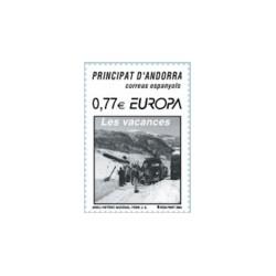 2004 Andorra Española. Europa - Las Vacaciones. (Edif. 317)**