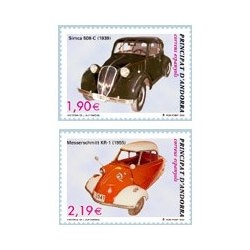 2004 Andorra Española. Historia del Automóvil. (Edif. 319/20)**