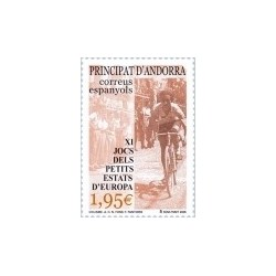 2005 Andorra Española. XI Juegos de los Estados Pequeños de Europa. (Edif.