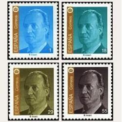 1994 Sellos de España (3305A/08A). S.M. D. Juan Carlos I.