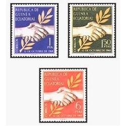 1968 Guinea Ecuat. Día de la Independencia (Edif.1/3)**