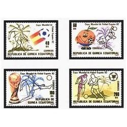1982 Guinea Ecuat. Copa Mundial de Fútbol España'82 (Edif.35/8) **