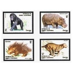 1983 Guinea Ecuat. Fauna (Edif.39/42) **
