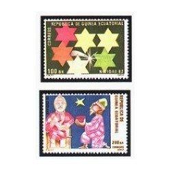 1983 Guinea Ecuat. Navidad 1982 (Edif.43/44) **