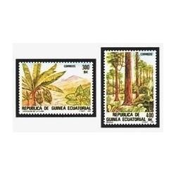 1983 Guinea Ecuat. Flora Autóctona (Edif.47/48) **