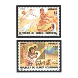 1983 Guinea Ecuat. Navidad (Edif.49/50) **