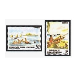 1984 Guinea Ecuat. Pesca Artesanal (Edif.53/54) **