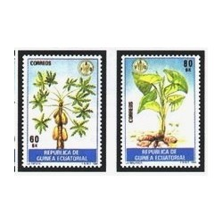 1984 Guinea Ecuat. Día Mundial de la Alimentación (Edif.55/56) **