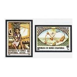 1984 Guinea Ecuat. Navidad (Edif.63/64) **