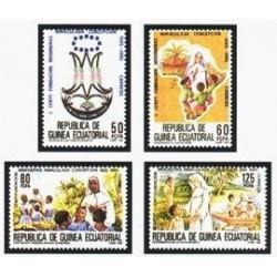 1985 Guinea Ecuat. Cent. de la Fundación de las Misiones Inmaculada Concep.