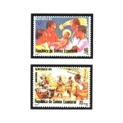 1985 Guinea Ecuat. Navidad (Edif.71/72) **