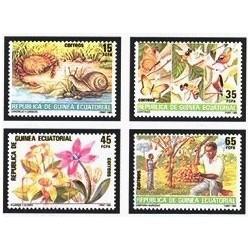 1985 Guinea Ecuat. Protección a la Naturaleza (Edif.73/76) **