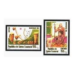 1986 Guinea Ecuat. Navidad (Edif.87/88) **