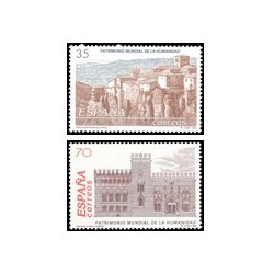 1998 España. Patrim. Mundial de la Humanidad. Minipliego (Edif.MP-60/61)**