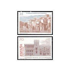 1998 Sellos de España (MP 60/61). Patrim. Mundial de la Humanidad. Minipliegos