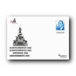 2004 España. Sobre EXFILNA - Acontecimientos (Edif. 94)**