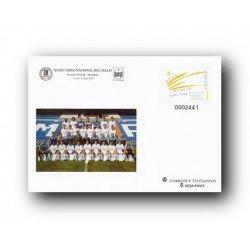 2002 España. Sobres Feria Nacional del Sello - Real Madrid (Edif. 78)**