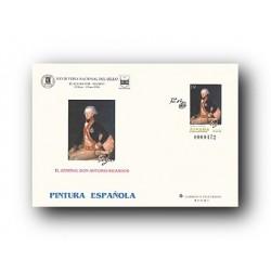 1996 España. Sobres Feria Nacional del Sello - Pintura (Edif. 35)**