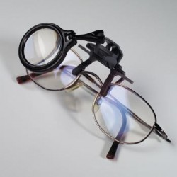 Lupa de pinza para gafas Leuchtturm