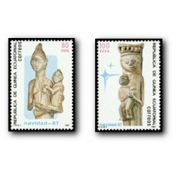 1987 Guinea Ecuat. Navidad (Edif.96/97) **