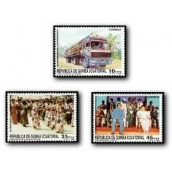 1988 Guinea Ecuat. 20 Aniv. de la Independencia (Edif.109/11)**