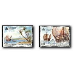 1990 Guinea Ecuat. V Cent. del Descubrimiento de América (Edif.129/0)**