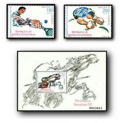 1991 Guinea Ecuat. Juegos Olímpicos Barcelona '92 (Edif.133/5)**
